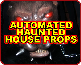 automated haunted house props